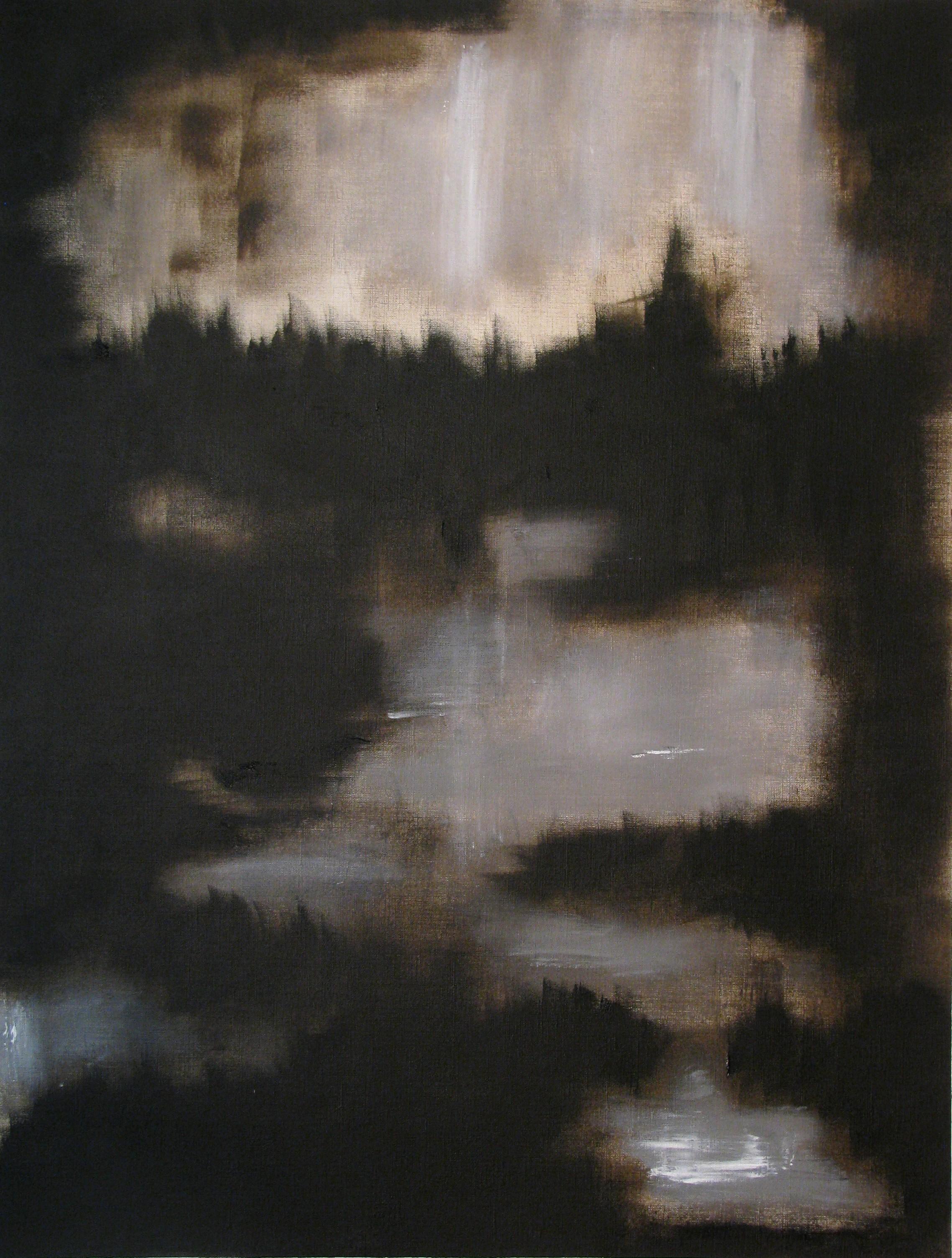 Peinture de marecage